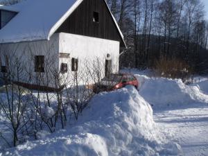 Konírna - rodinný dům - Zimní pohádka