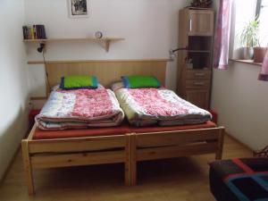 Konírna - rodinný dům - Ložnice s manželskou postelí