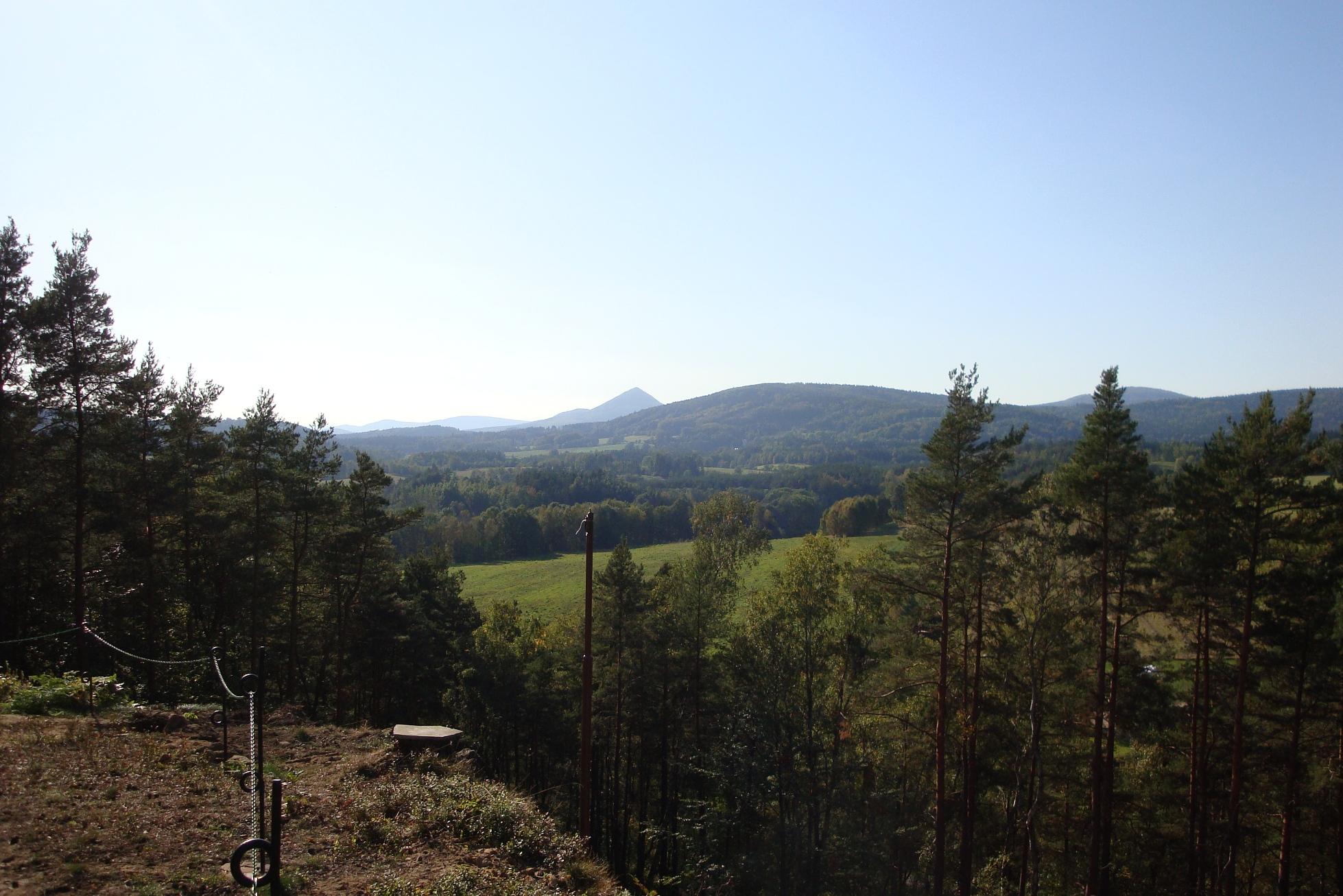 Pohled na Lužické hory