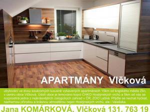 Apartmány Vlčková