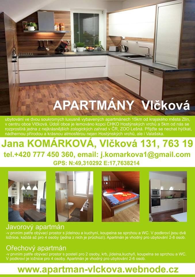 Apartmán Vlčková