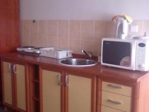Apartmány Doksy - Apartmán 2 lůžka (přízemí) - kuchyňka