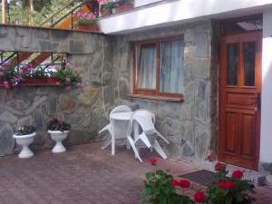 Apartmány Doksy - Apartmán 2 lůžka (přízemí) - venkovní posezení