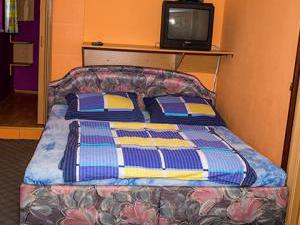 Apartmány Doksy - Apartmán 4 lůžka - postel + TV