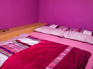 Apartmány Doksy - Apartmán 4 lůžka - postel