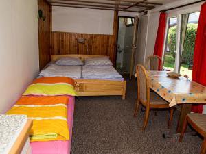 Apartmány Doksy - Chatka 3 lůžka - interiér