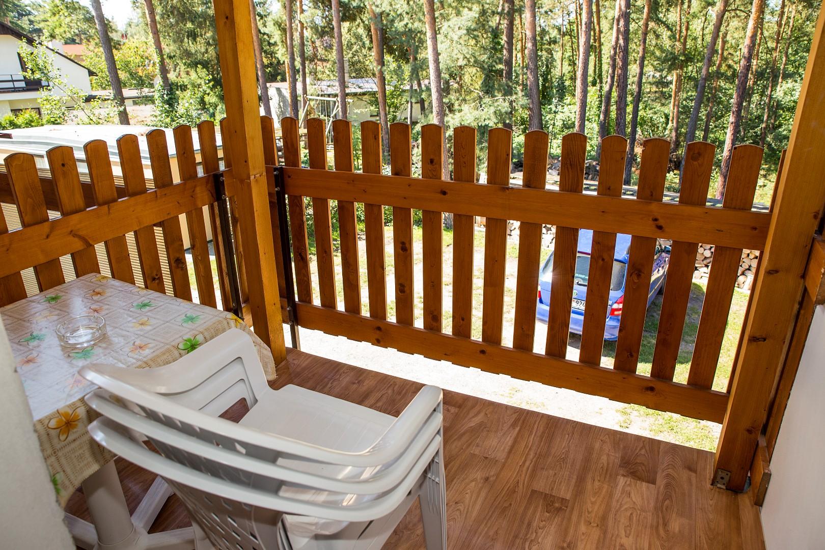 Apartmán 2 lůžka (patro) - venkovní posezení
