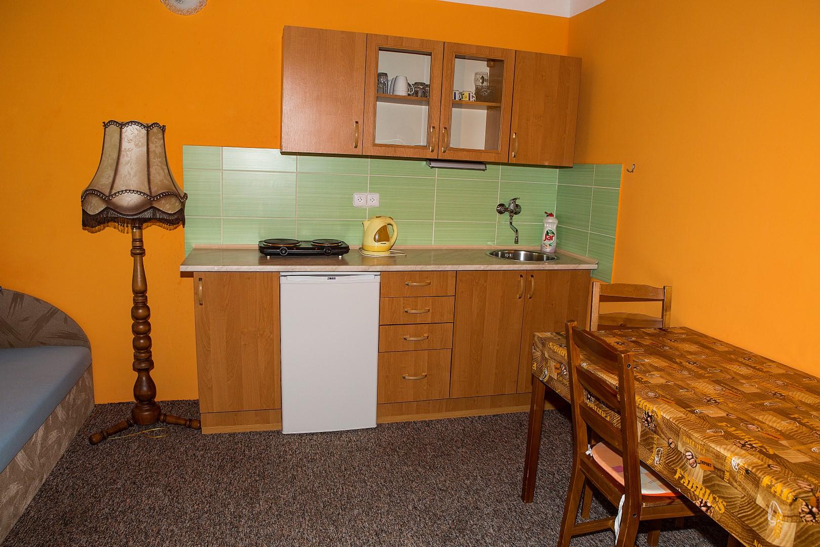Apartmán 2 lůžka (patro) - kuchyňka