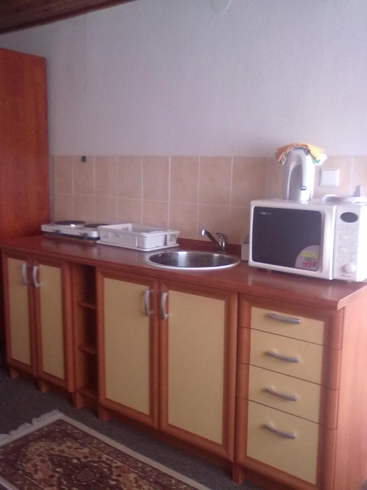 Apartmán 2 lůžka (přízemí) - kuchyňka