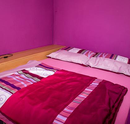 Apartmán 4 lůžka - postel