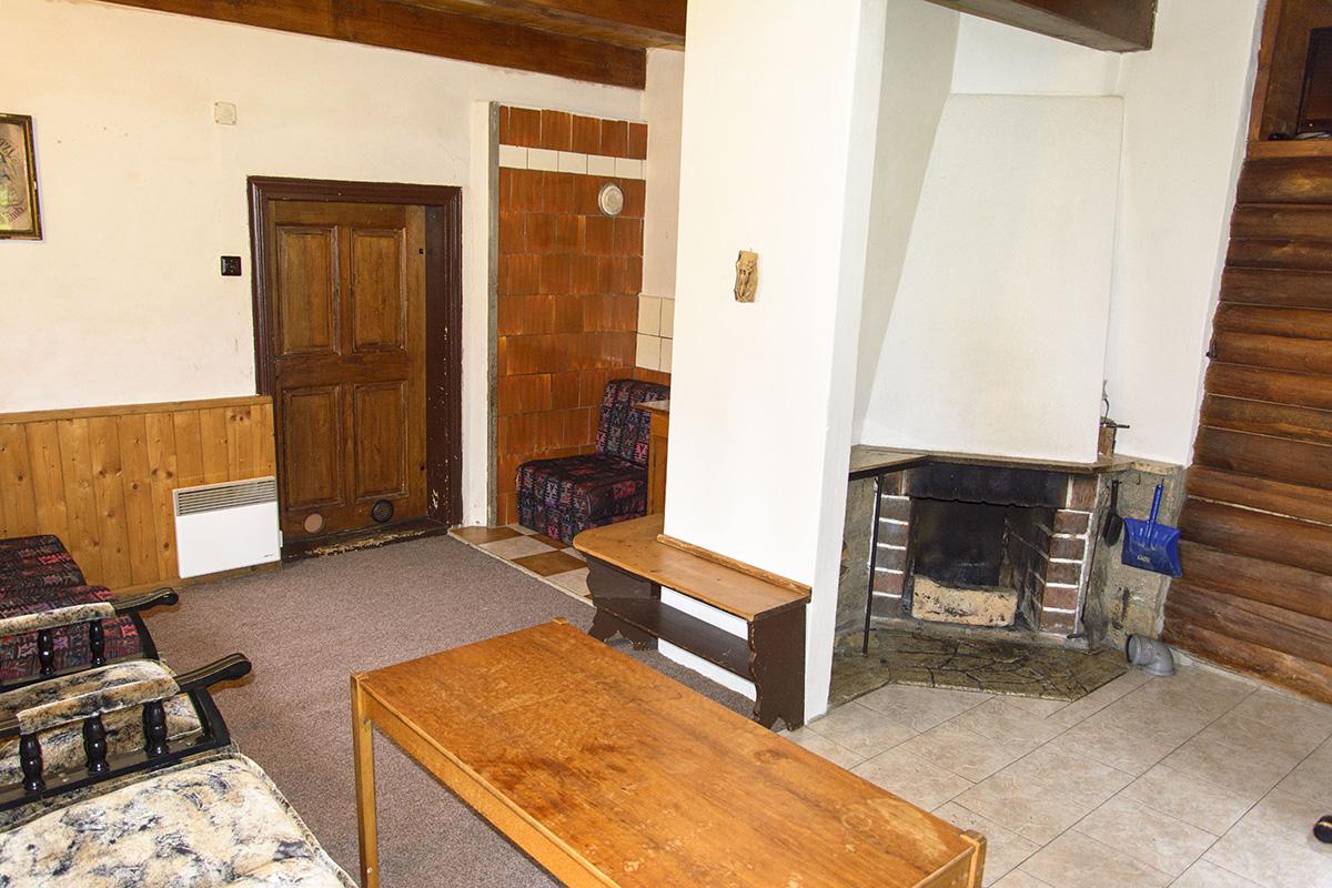 Chalupa Na Paloučku ubytování v Orlickém Záhoří - obývací pokoj 2