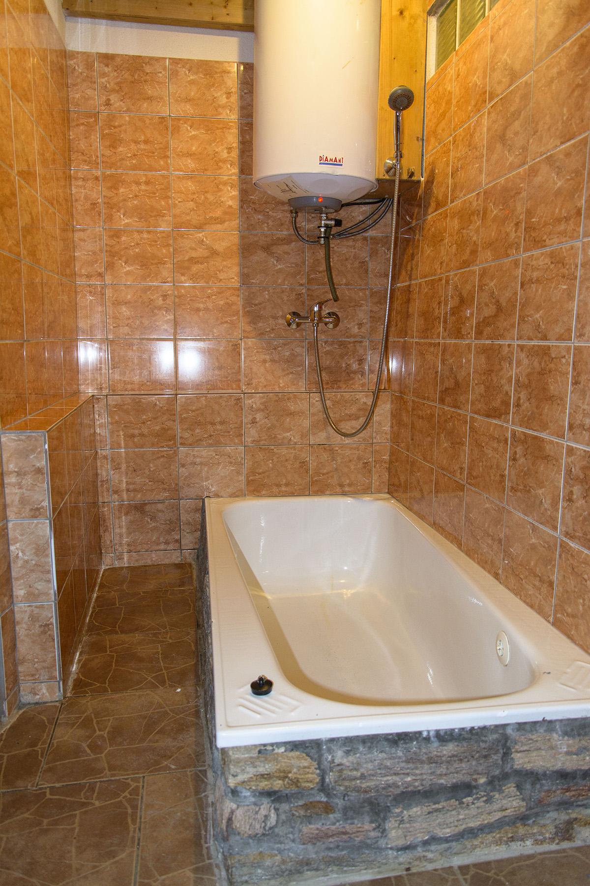 Chalupa Na Paloučku ubytování v Orlickém Záhoří - koupelna 2