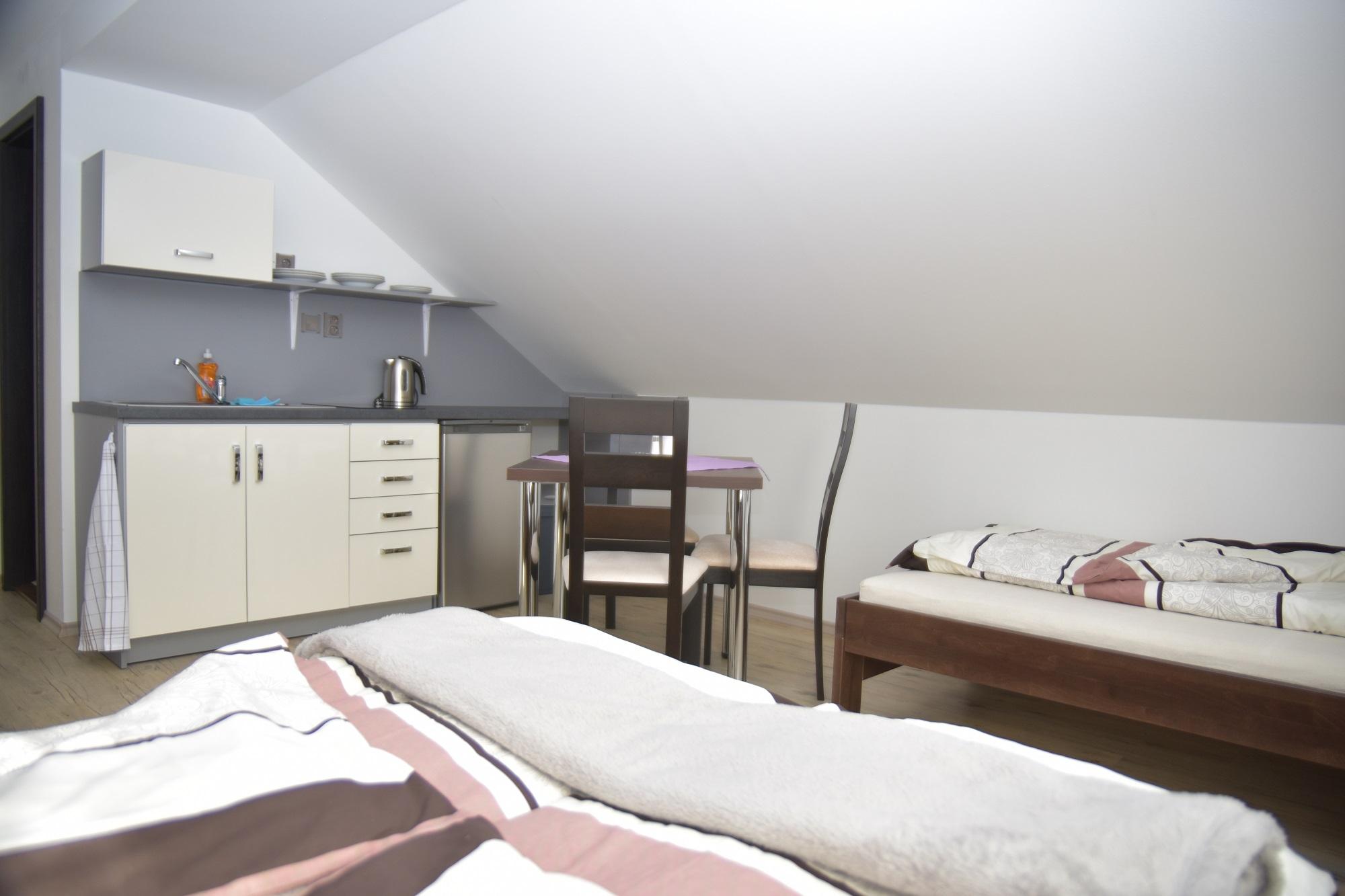 Ubytování Penzion Malé Lipno pokoj
