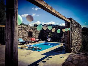 Chalupa Tři studánky - Venkovní bazén