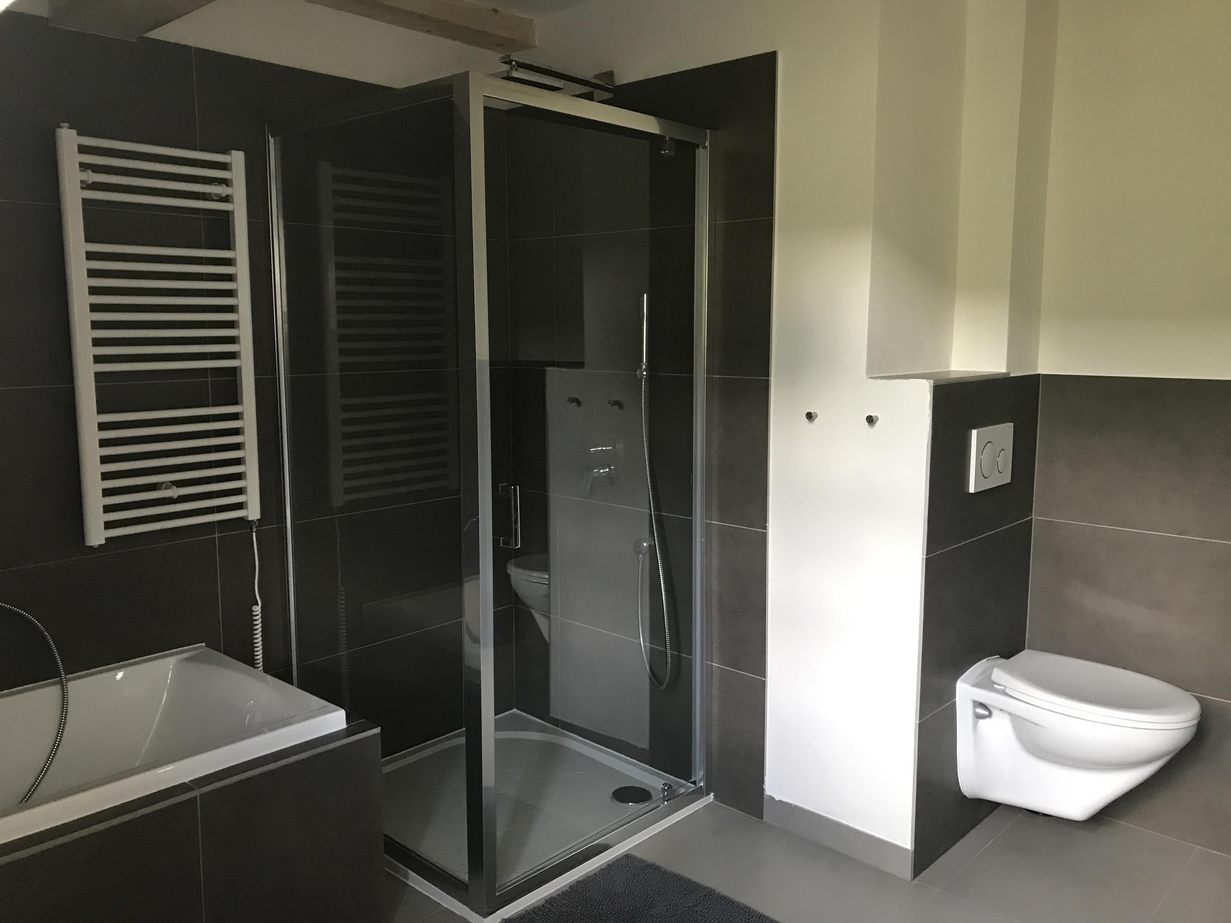 Apartmán 2, koupelna