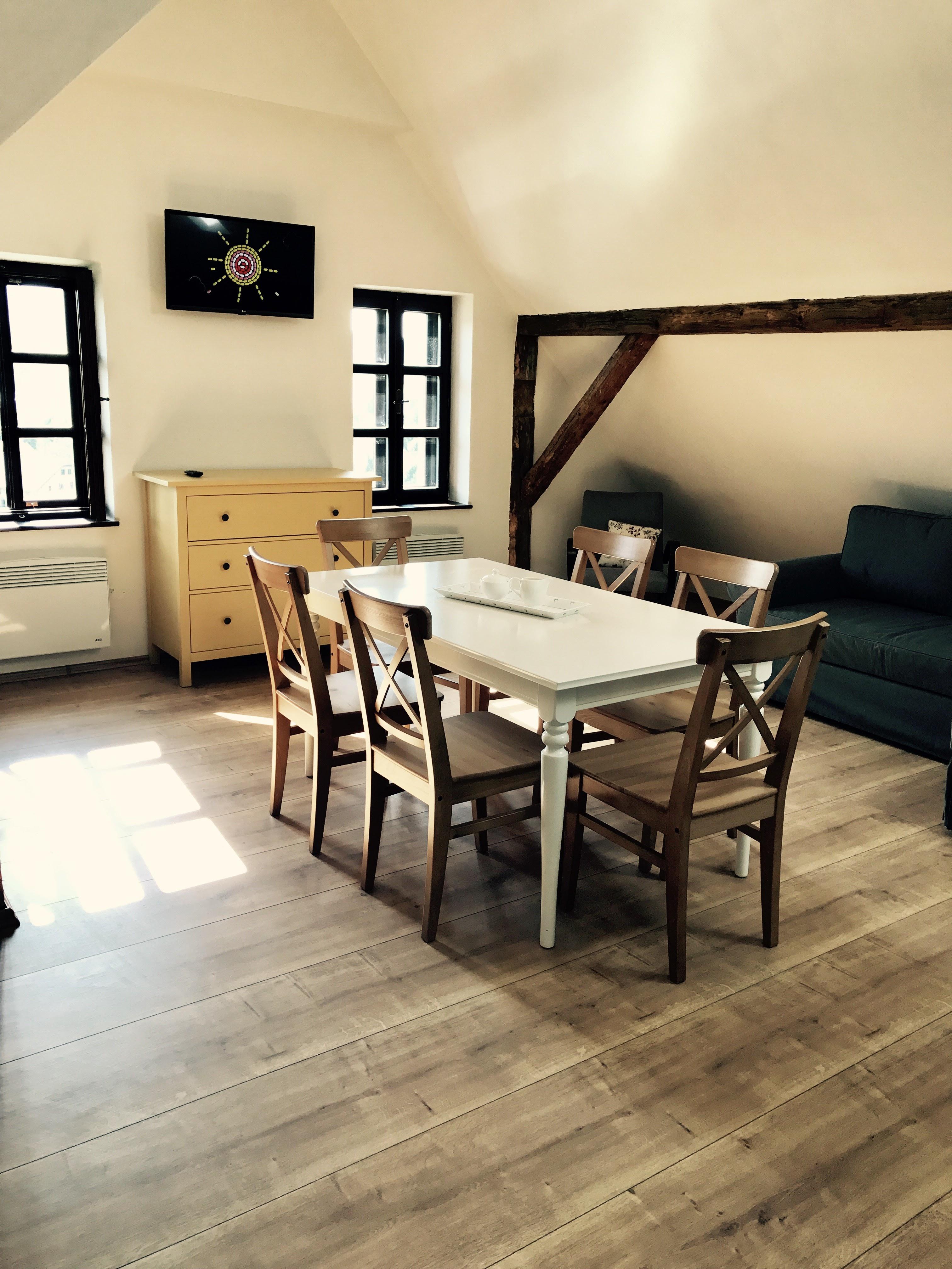 Apartmán 3, obývací část
