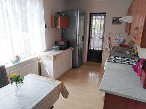 Apartmán Liberecká - Kuchyň se vchodem na terasu