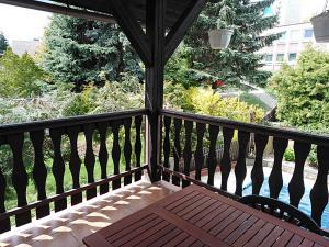 Apartmán Liberecká - Terasa - pohled do okolí