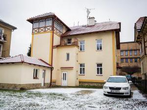 Penzion Růža - parkoviště za penzionem