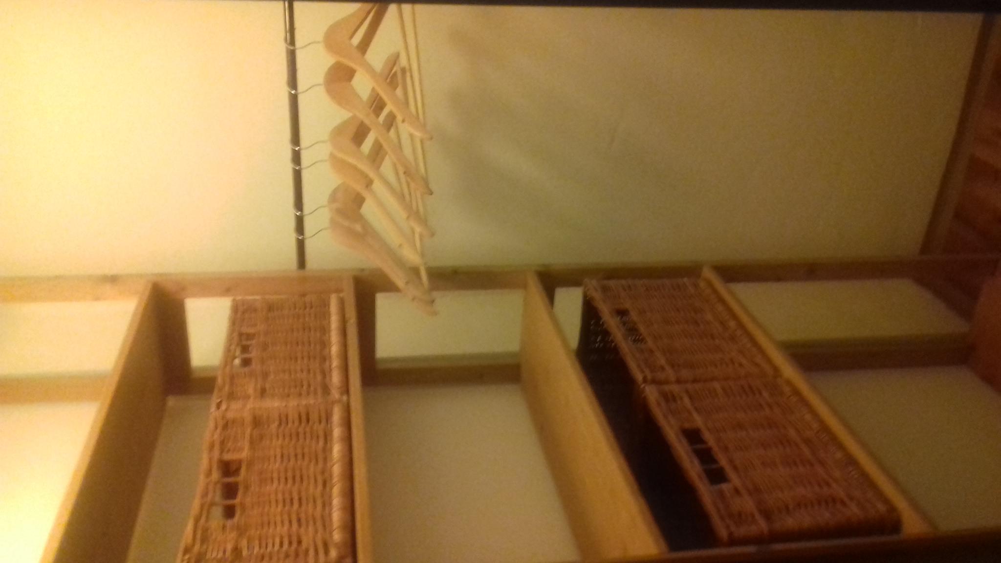Apartmán Barborka 5. května šatna