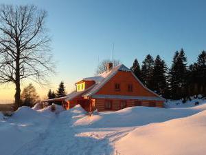 Chalupa Kunčinka - Chalupa Kunčinka, v zimě