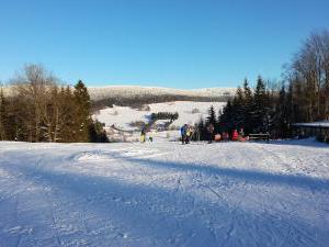 Chalupa Kunčinka - Ski centrum Zdobnice, vlek Valčenka (800m od chalupy)