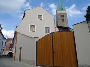 Penzion Telč Hradební - Penzion Telč Hradební  - pohled zadní