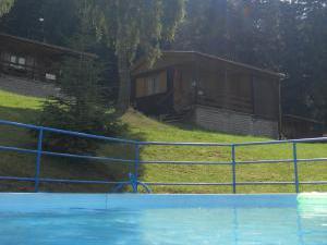 KOKY Šimanov - Pohled od bazénu.
