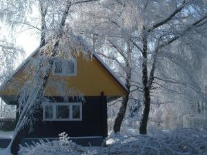 Chaty Oaza - Zima v beskydech
