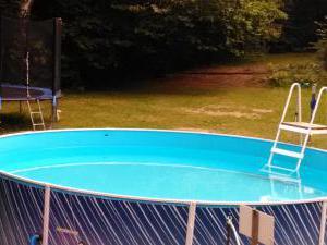 Chaty Oaza - letní prázdniny bazén