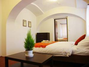 Švihák lázeňský - Pokoj č. 2 - 4 lůžkový - 2 místnosti