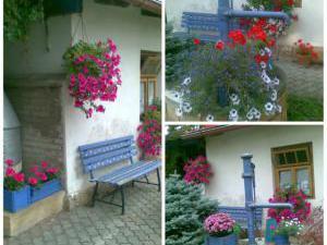 Penzion Sarmo Lázně Bělohrad - Zahrada, krb.