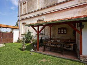Penzion Primášé - Venkovní kryté posezení