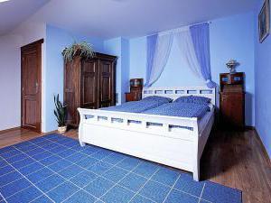 Penzion Primášé - Modrý pokoj