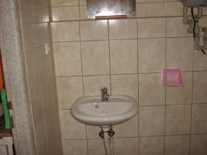 Ubytovna pro dělníky i turisty - koupelna