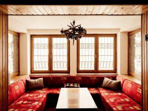 Horská chata Kouty - Horská chata Kouty - obývací pokoj