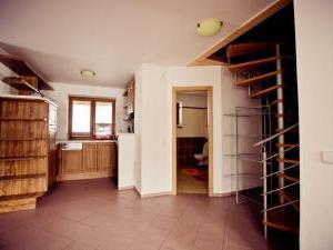Chata U Vleku - Chata U vleku - společenská místnost, kuchyně