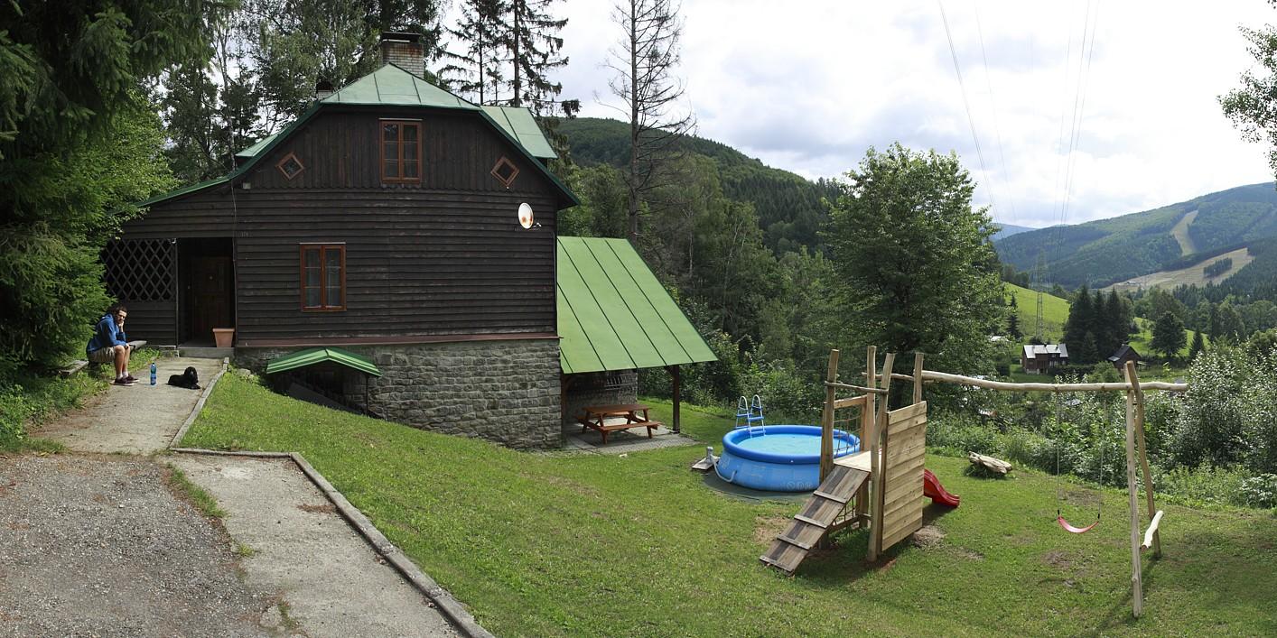 Horská chata Kouty - Panorama od chaty