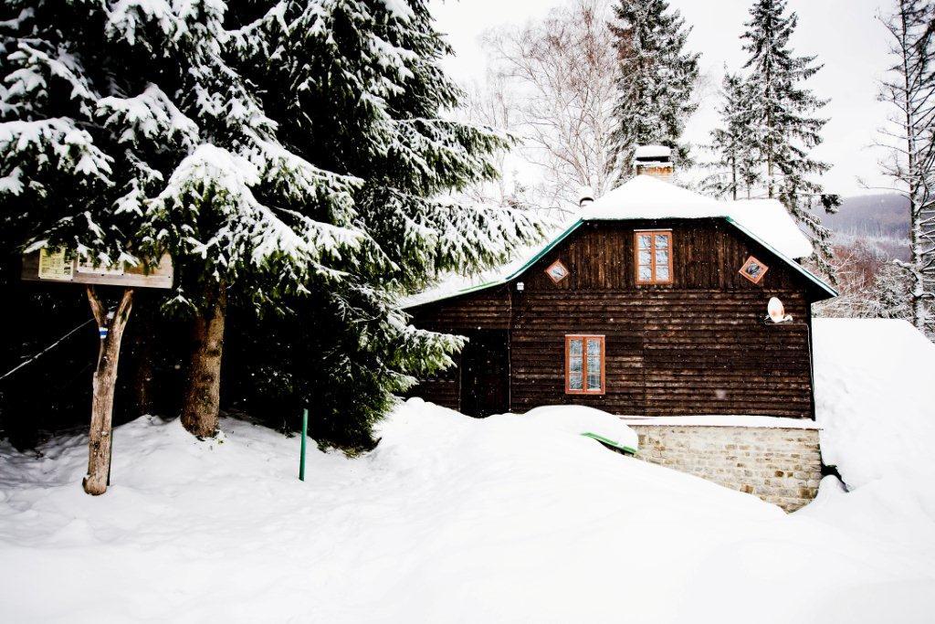 Horská chata Kouty - zimní