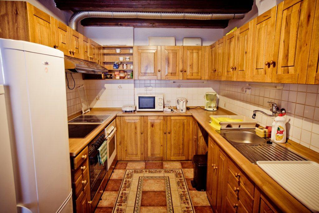Horská chata Kouty - kuchyň