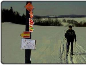 Penzion Vlasta - běžecké trasy na Sněžníku