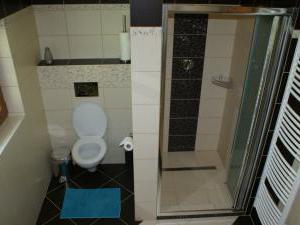 Roubenky Zlaté Hory - Horní Údolí - koupelna - WC a sprcha