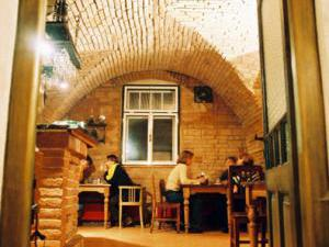 Penzion restaurace Novopacké sklepy - interiér restaurace