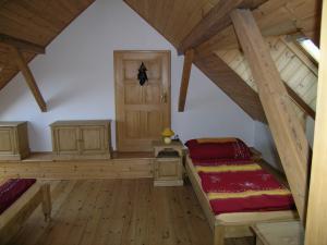 Arabela - Ukázka pokoje v podkroví