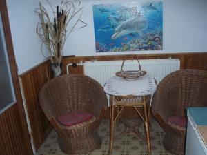 Penzion a apartmán Renata - posezení na chodbičce