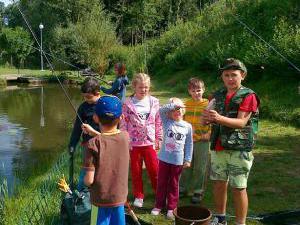Mlýnhotel - Děti - rybaření