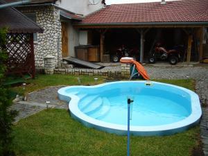 Apartmán Modré z nebe - Bazén