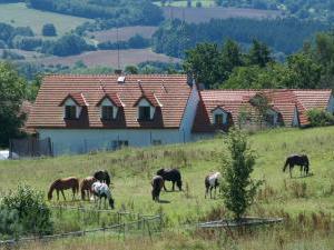 Penzion Farma Zahradnice - Zahradnice ubytování v okresu Benešov