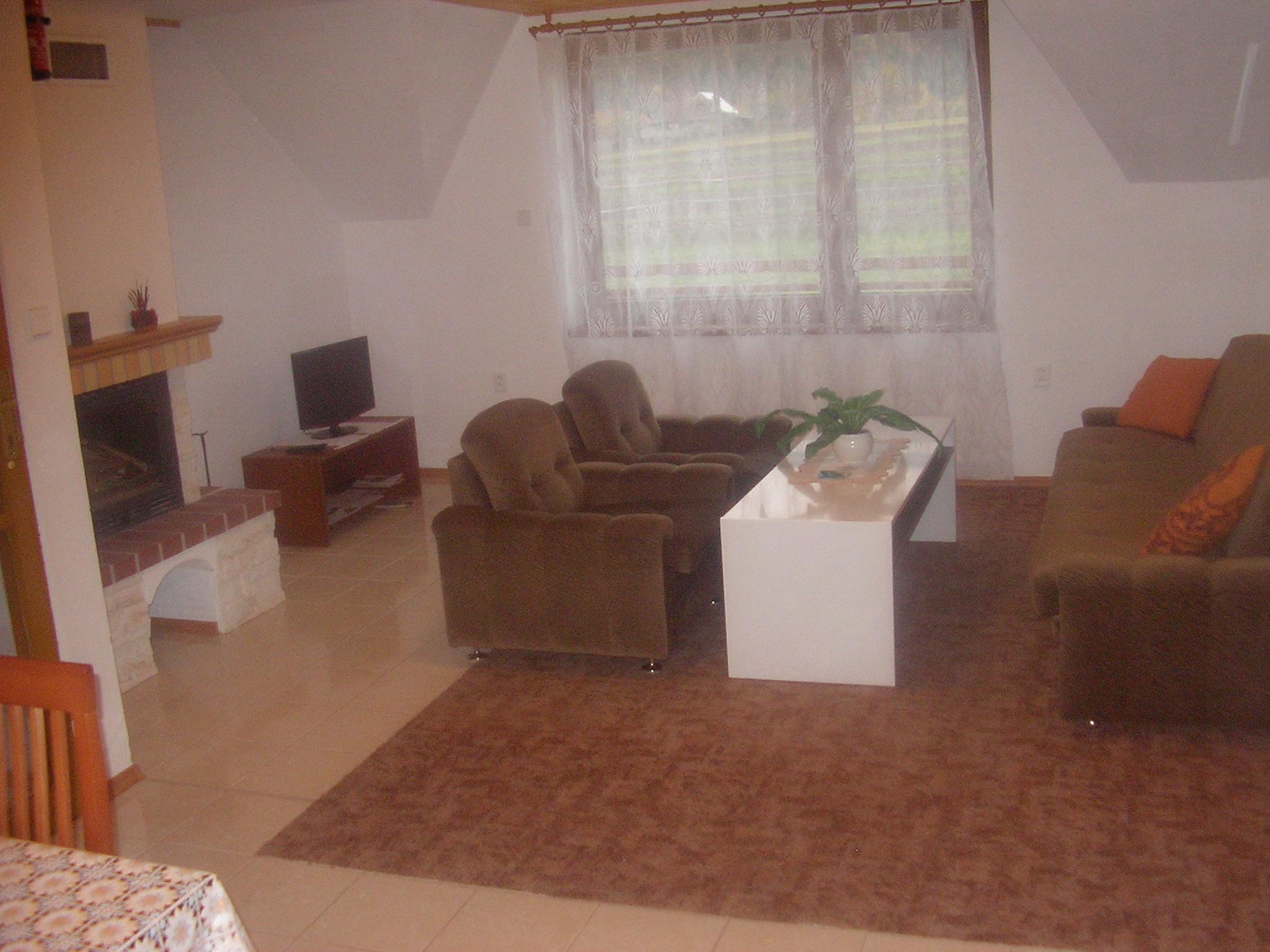 obývačka apartmánu
