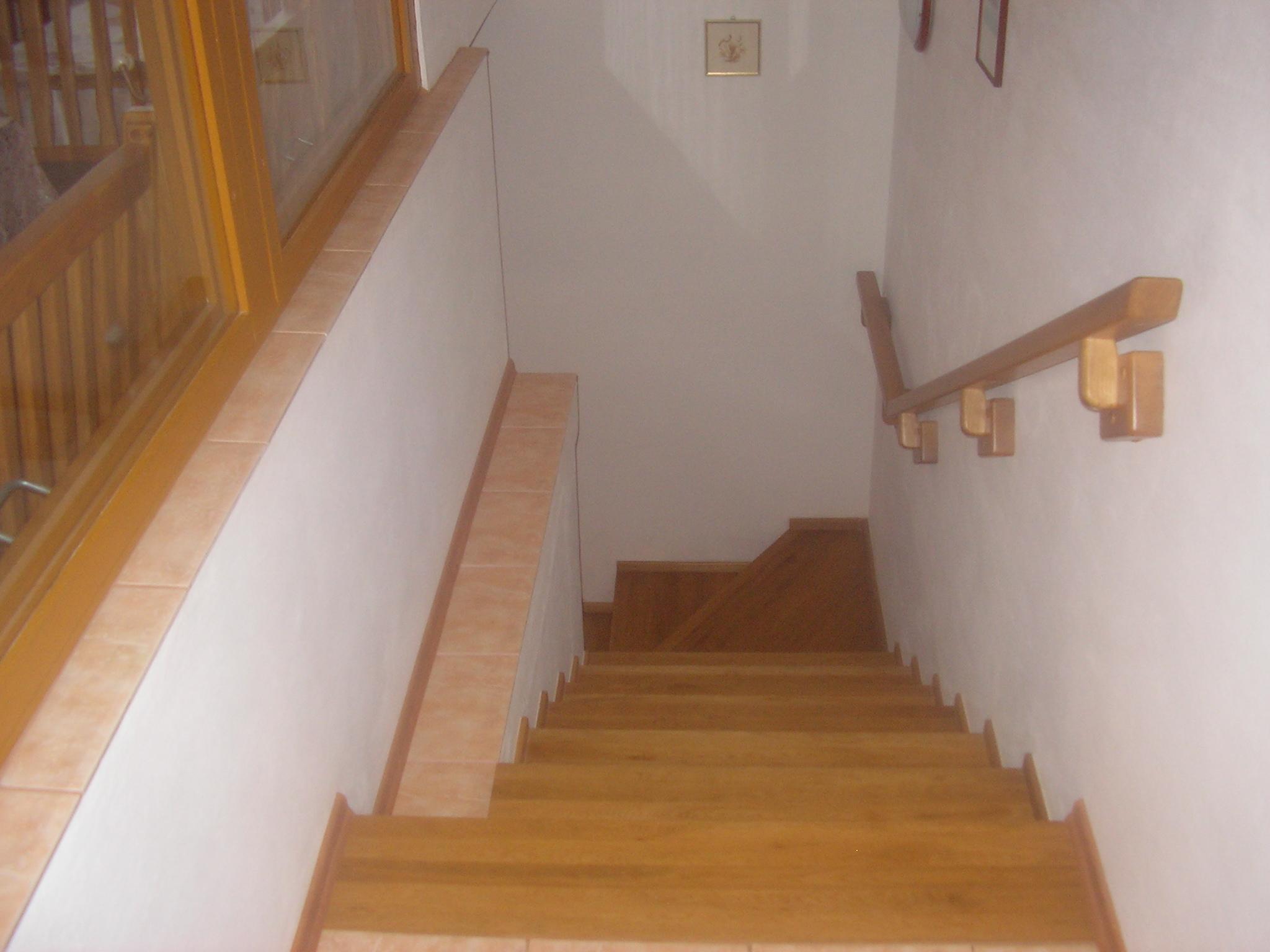 schody apartmánu